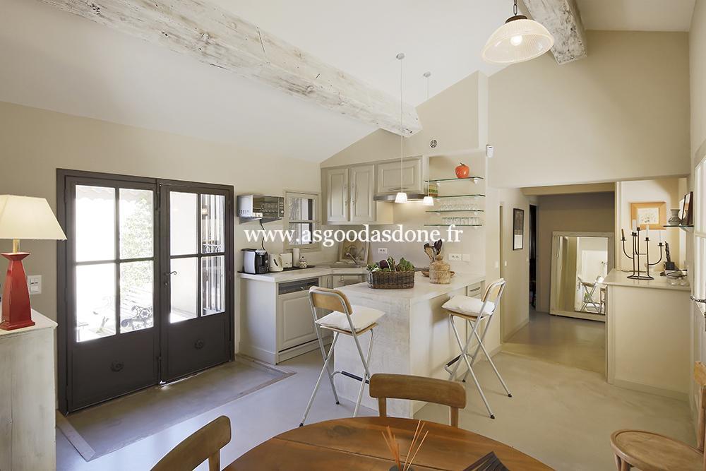 cuisine en open space qui donne sur le salon as good as done On cuisine qui donne sur le salon